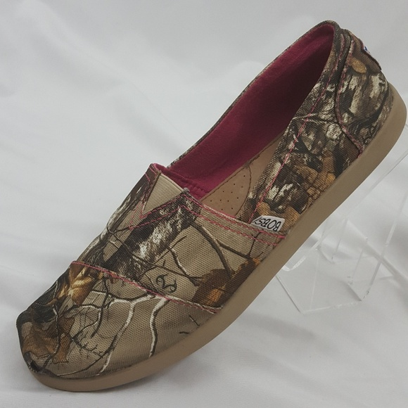 Bobs By Skechers Realtree Camo Print